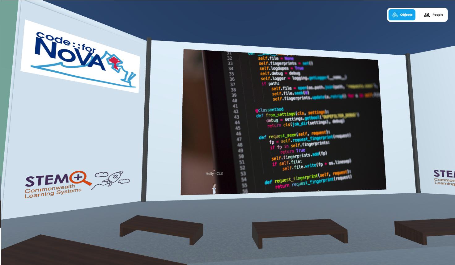 Code for Nova Hubs Room